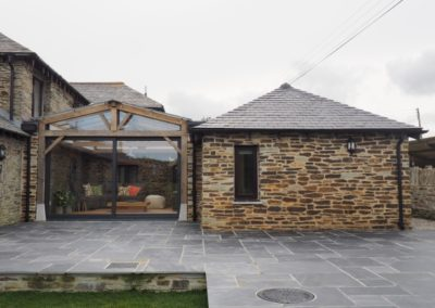 Extension and garden room