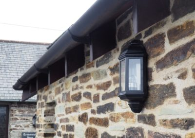 Extension stone work