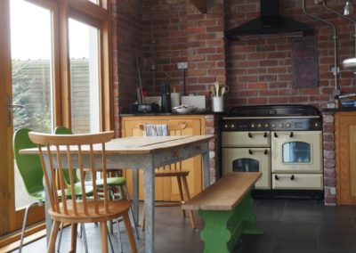 Kitchen and dining room extension